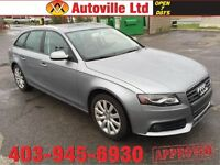 2011 AUDI A4 WAGON 2.0T QUATTRO AWD PANORAMIC ROOF