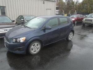 2015 CHEVROLET SONIC 66000KM,AUTO, AIR, $8995