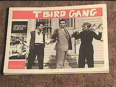 T BIRD GANG 1959 LOBBY CARD #5 JUVENILE DELINQUENT CRIME