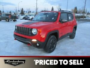 2018 Jeep Renegade TRAILHAWK              APPLE CARPLAY AND ANDR