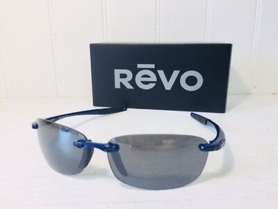 REVO RE4059 05 GY DESCEND N Electric Blue w/Graphite POLARIZED Lens (Graphite Sunglasses)