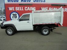 2009 Nissan Patrol GU 6 MY08 DX CabChassis White Manual Single Cab Welshpool Canning Area Preview