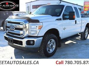 2011 Ford F-350 XLT 4X4 EXTENDED CAB 6.75 ft. 6.7L DIESEL
