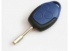 Ford transit 2006- Blue Remote fob key - Cut and programmed - Nottingham