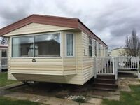 DOUBLE GLAZED AND GAS CENTRAL HEATED STATIC CARAVAN FOR SALE WITH VERANDA. SKEGNESS & INGOLDMELLS