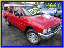 1996 Holden Rodeo TFG6 LX (4x4) Red 5 Speed Manual 4x4 Crewcab Minto Campbelltown Area Preview