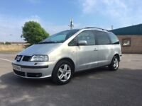 Seat Alhambra 1.9 TDI PD SE 5dr£2,795 p/x Lovely 7 Seater with FSH 2004 (53 reg), MPV 104,000 miles