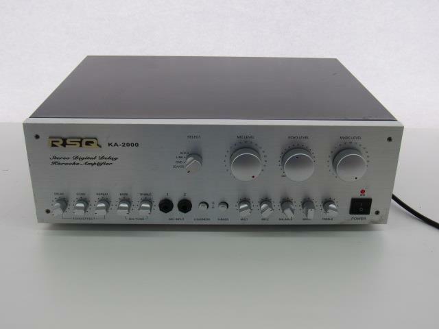 RSQ KA-2000 Mixing Amplifier