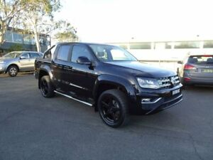 2016 Volkswagen Amarok 2H MY17 TDI550 4MOTION Perm Highline Black 8 Speed Automatic Utility Nowra Nowra-Bomaderry Preview