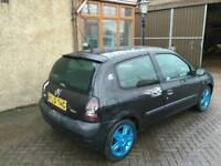 51 reg Clio for swap for 1.4 5 door car