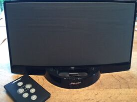 Bose SoundDock Station digital music system, with remote control