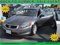 2008 Honda Accord EX-L Sedan, Sunroof, Leather, TEST DRIVE TODAY