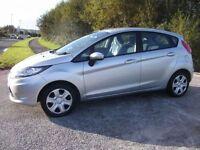 FORD FIESTA 1.2 EDGE 5d 59 BHP (silver) 2011