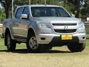 2013 Holden Colorado RG MY13 LX Crew Cab Silver 6 Speed Sports Automatic Utility Strathalbyn Alexandrina Area Preview