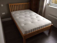 John Lewis Small Double Bedframe and Mattress