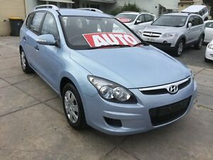 2011 Hyundai i30 FD MY11 SX cw Wagon Sky Blue 4 Speed Automatic Wagon Park Holme Marion Area Preview