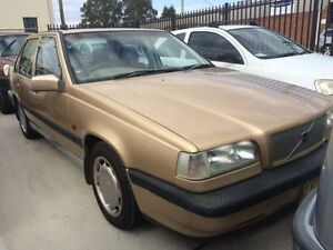 1996 Volvo 850 S Gold 4 Speed Automatic Sedan Georgetown Newcastle Area Preview