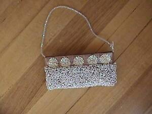 Ladies Bead Fabric Evening Bag Doncaster East Manningham Area Preview
