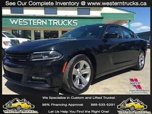 2015 Dodge Charger SXT ~ Dual Exhaust ~ Alpine Sound ~ $187 B/W