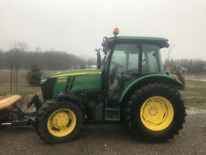 Tractor with Plow for Rent