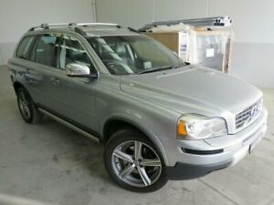 2011 Volvo XC90 P28 MY12 D5 Geartronic R-Design Silver 6 Speed Sports Automatic Wagon Seaford Frankston Area Preview