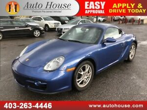 2007 PORSCHE CAYMAN 2.7L MANUAL
