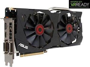 carte vidéo NEUVE ★ ASUS GeForce GTX 970 STRIX