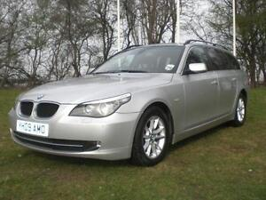 BMW-5-SERIES-520D-SE-TOURING-2009-Diesel-Manual-in-Silver
