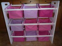 Girls Toy Storage / Toy Box