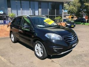 2012 Renault Koleos H45 Phase II Privilege Black 1 Speed Constant Variable Wagon Lidcombe Auburn Area Preview
