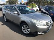 2011 Subaru Outback B5A MY11 2.5i Lineartronic AWD Premium Silver 6 Speed Constant Variable Wagon Bunbury Bunbury Area Preview