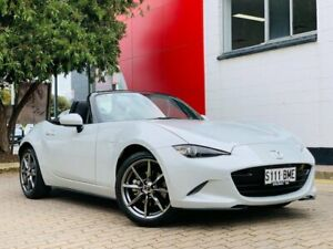 2016 Mazda MX-5 ND GT SKYACTIV-Drive Grey 6 Speed Sports Automatic Roadster Medindie Walkerville Area Preview
