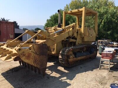 1977 Cat 955l Trackloder With Backhoe Attachment