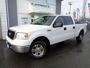 2007 Ford F-150 XLT 4x4 Crew Cab 6.5 Ft. Box, Local, No Accident