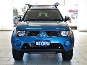 2008 Mitsubishi Triton ML MY08 GLX-R (4x4) Blue 4 Speed Automatic 4x4 Morley Bayswater Area Preview