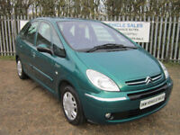 LOW MILEAGE / ONE OWNER CITROEN XSARA PICASSO 1.6 HDI 110 DESIRE ONLY 52K FSH!!!