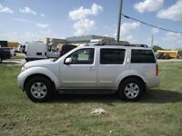 2007 Nissan Pathfinder 4x4,air, auto.