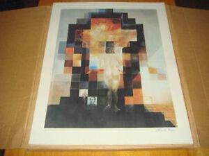 Salvador Dali Vintage A/P Litho. Trade for a nice clean couch