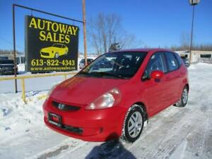 2007 Honda Fit ** Safety + Warranty Included **