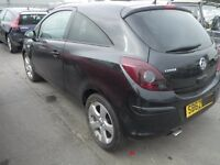 vauxhall corsa d tailgate / boot in black 3 door 2007 2008 2009 used
