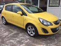 2012 12 VAUXHALL CORSA 1.2 SXI AC 5D 83 BHP - 1 OWNER FROM NEW