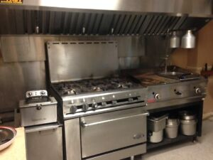 Industrial Gaz Stove and Grill for Sale