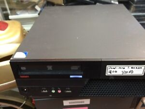 hp 4gb ram 320gb windows 7 pro 90$