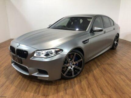 2014 BMW M5 F10 LCI 30 Jahre M-DCT Silver 7 Speed Sports Automatic Dual Clutch Sedan Kingsgrove Canterbury Area Preview