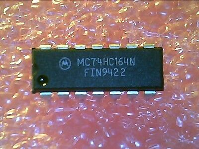 74hc164 Mc74hc164n 8-bit Shift Register 14dip 5pcs Per Lot