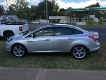 2011 Ford Focus LW Titanium Moondust Silver 6 Speed Automatic Sedan Young Young Area Preview