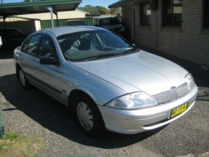 1999 Ford Falcon AU Forte Silver 4 Speed Automatic Sedan Tuncurry Great Lakes Area Preview