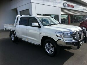 2018 Toyota Landcruiser VDJ200R MY16 GXL (4x4) Crystal Pearl 6 Speed Automatic Wagon Sale Wellington Area Preview