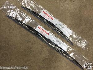 Genuine oem honda accord front windshield wiper blades for 2007 honda civic wiper motor
