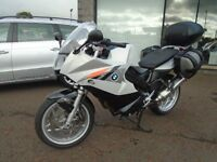 BMW F800ST WITH FULL LUGGAGE